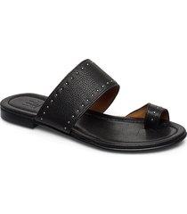 sandals 4131 shoes summer shoes flat sandals svart billi bi