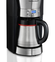 hamilton beach 10 cup programmable thermal coffee maker