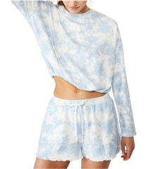 cotton on supersoft draw cord lounge top, online only