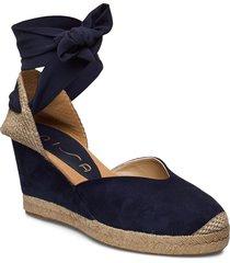 chufy_ks sandalette med klack espadrilles blå unisa