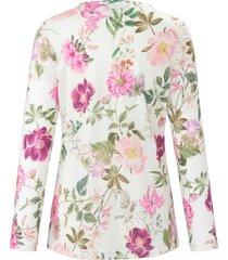 pyjama met lange mouwen en dessin van bloemen van fürstenberg roze