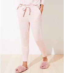 loft petite striped pajama pants
