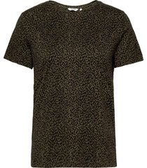 byrillo thsirt 6 - t-shirts & tops short-sleeved multi/mönstrad b.young