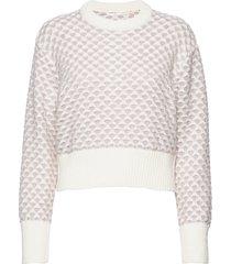 ettaiw pullover gebreide trui wit inwear