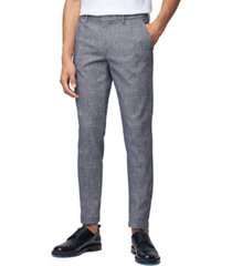 boss men's kaito dark blue pants