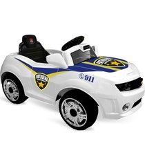 camaro patrulha r/c elétrico 6v