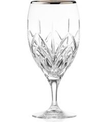 marquis by waterford iced beverage glass, caprice platinum