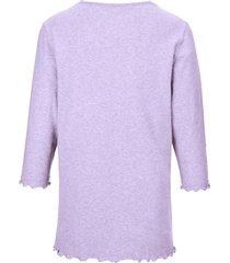 pyjama van 100% katoen met 3/4-mouwen van peter hahn paars