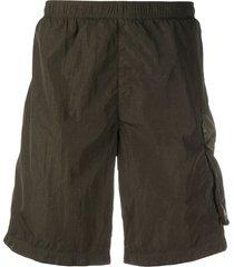 c.p. company cargo pocket swim shorts - green