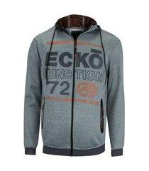 jaqueta ecko com capuz nylon ab - masculina