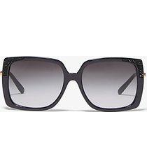 mk occhiali da sole rochelle - nero (nero) - michael kors