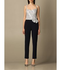 lauren ralph lauren jumpsuits lauren ralph lauren long jumpsuit with sequin top