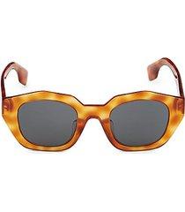 46mm square sunglasses