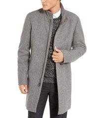 calvin klein men's mayden slim-fit overcoat