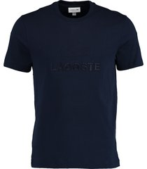 lacoste t-shirt donkerblauw rf th8602/166