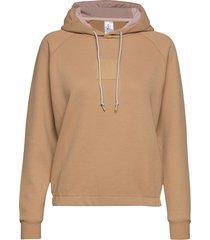 unaltered hood hoodie trui beige johaug
