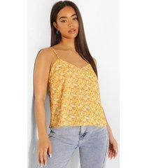 bloemenpatroon hemdje, yellow