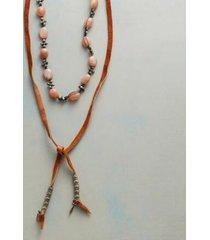 sundance catalog women's spring moon lariat necklace