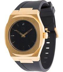 d1 milano mechanical watch - black