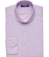 cole haan grand.øs pink slim fit dress shirt