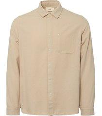 folk sand flannel pop stud shirt fm332s