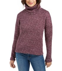 columbia chillin fleece turtleneck sweater