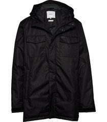atlas jacket parka jas zwart makia