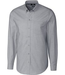 cutter & buck men's big & tall long sleeves stretch oxford shirt