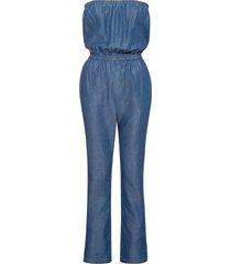 tuta a fascia in jeans (blu) - rainbow