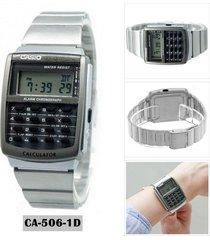 ca-506-1df reloj calculadora retro para hombre