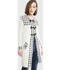 abrigo wados beige - calce regular