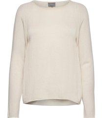 cualaia pullover stickad tröja vit culture