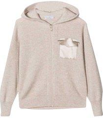 brunello cucinelli sand sweatshirt