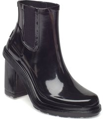 hunter ori ref highheel shoes boots ankle boots ankle boots with heel svart hunter