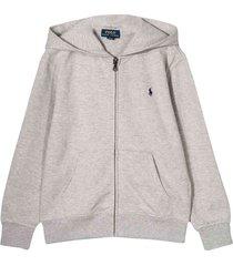 ralph lauren gray sweatshirt