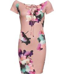 abito a fiori (rosa) - bodyflirt boutique