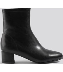na-kd shoes soft ankle boots - black