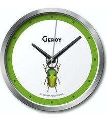 zegar ścienny chrząszcz, zielony, owady