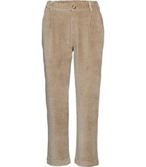 kleo cropped pant pantalon met rechte pijpen groen sparkz copenhagen