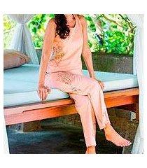 cotton pajamas, 'vintage bali vignette' (indonesia)