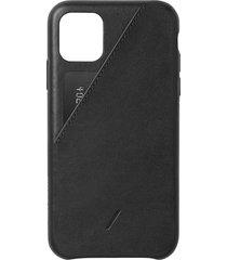 clic card iphone 11 case - black