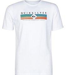 t-shirt korte mouw quiksilver distant fortune ss