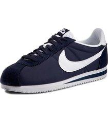 tenis azules nike classic cortez
