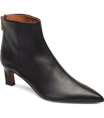 messina nappa shoes boots ankle boots ankle boot - heel svart atp atelier