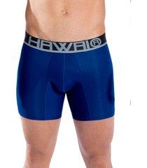 bóxer medio hawai azul rey