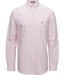 reg oxford bd overhemd casual roze gant