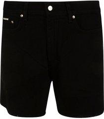 represent relaxed denim shorts