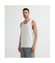 regata pijama em algodão | viko | branco | gg