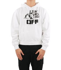 off white world caterpillar over hoodie
