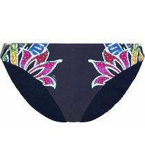 bikini bottom lotus batik reversible midnight